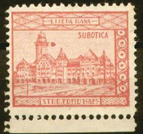 marka subotica 1939
