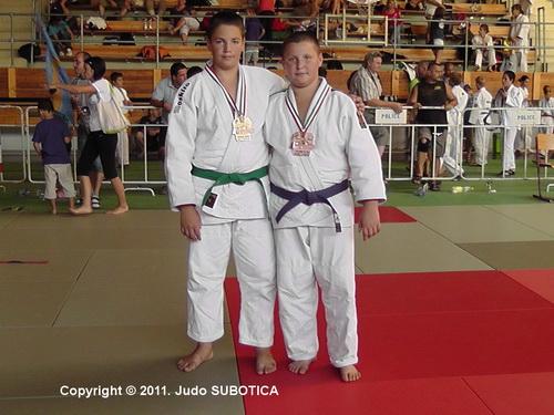 Judo Subotica - Siklos Madjarska
