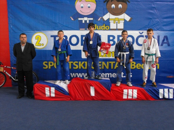 Judo Subotica Luka Franovic