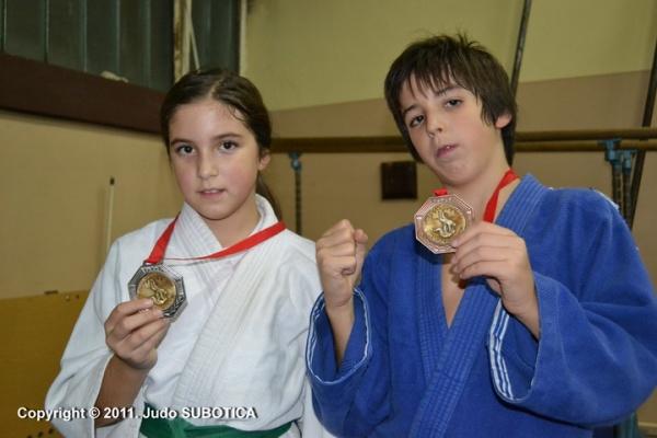 Judo Subotica Mila i Luka Franović