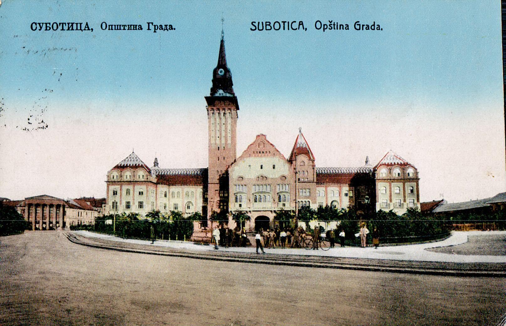 Image result for Gradska kuća, Subotica logo