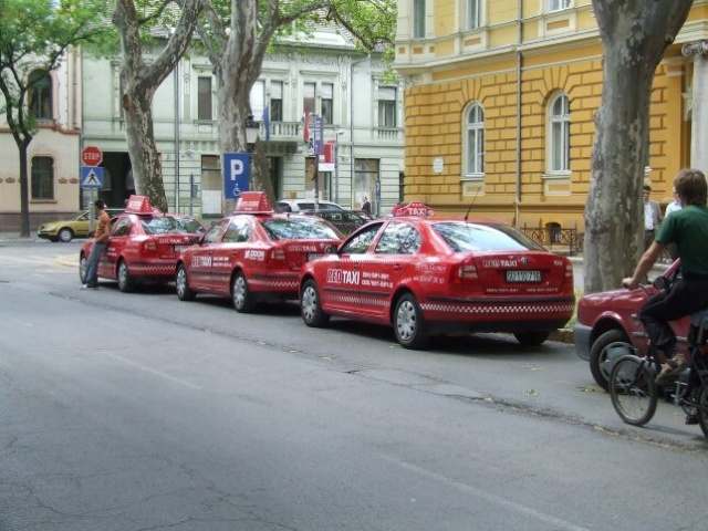 Subotica-Red Taxi