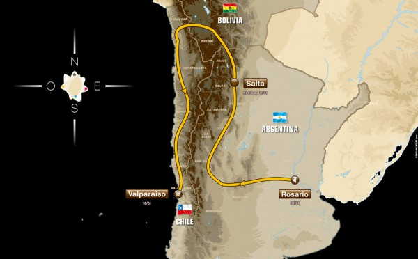 2014-dakar-rally-route