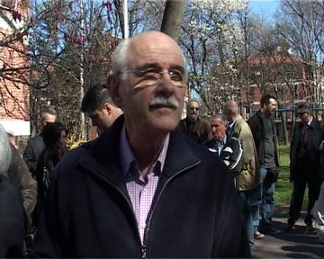 Beograd, Kornelije Kovac kompozitor, o otkrivanju spomen ploce kompozitoru Alksandru Koracu