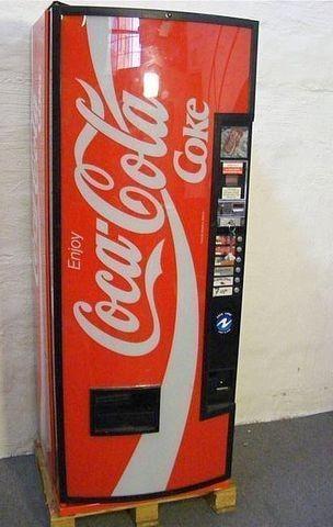 koka kola automat