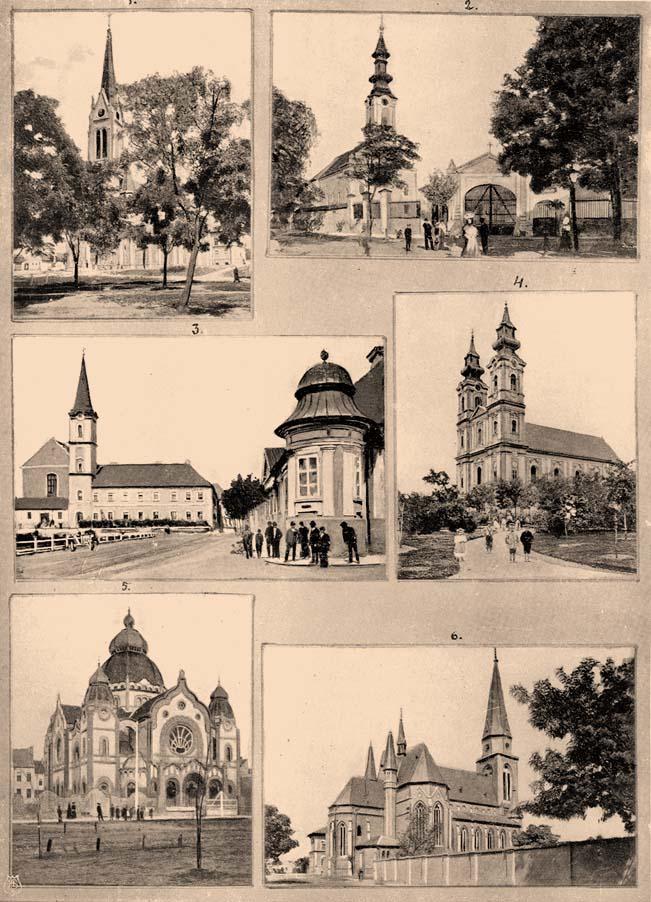 szabadka templomai