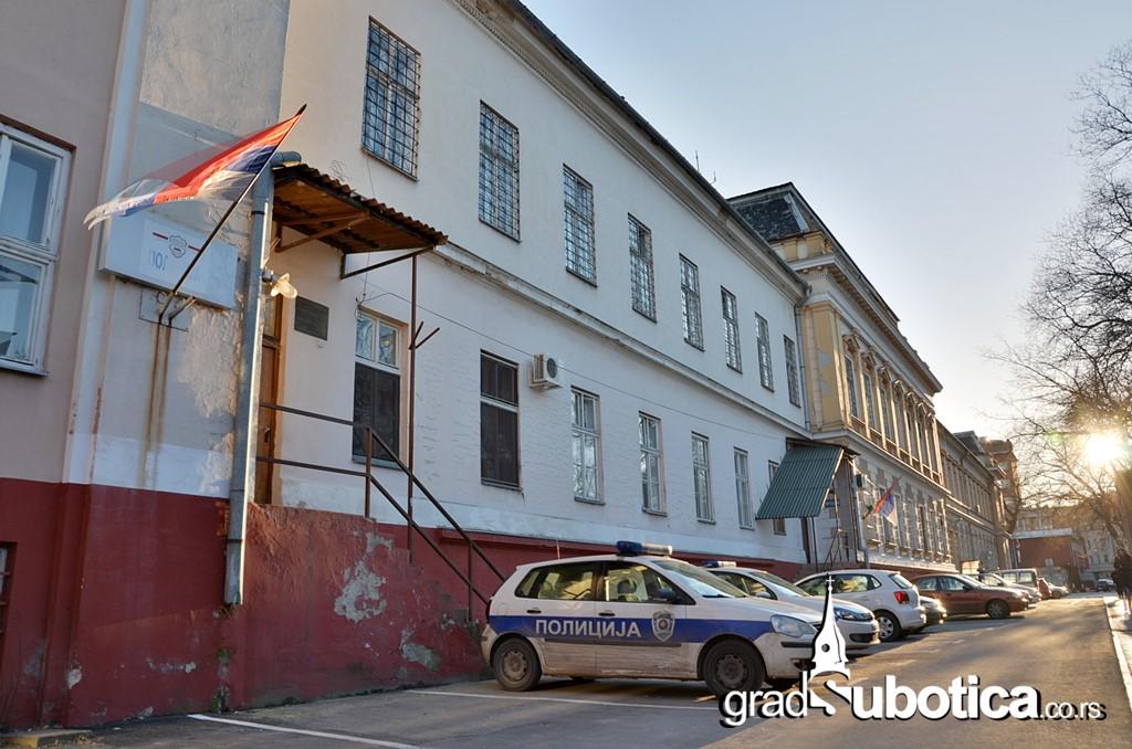 Plicija MUP Subotica zatvor