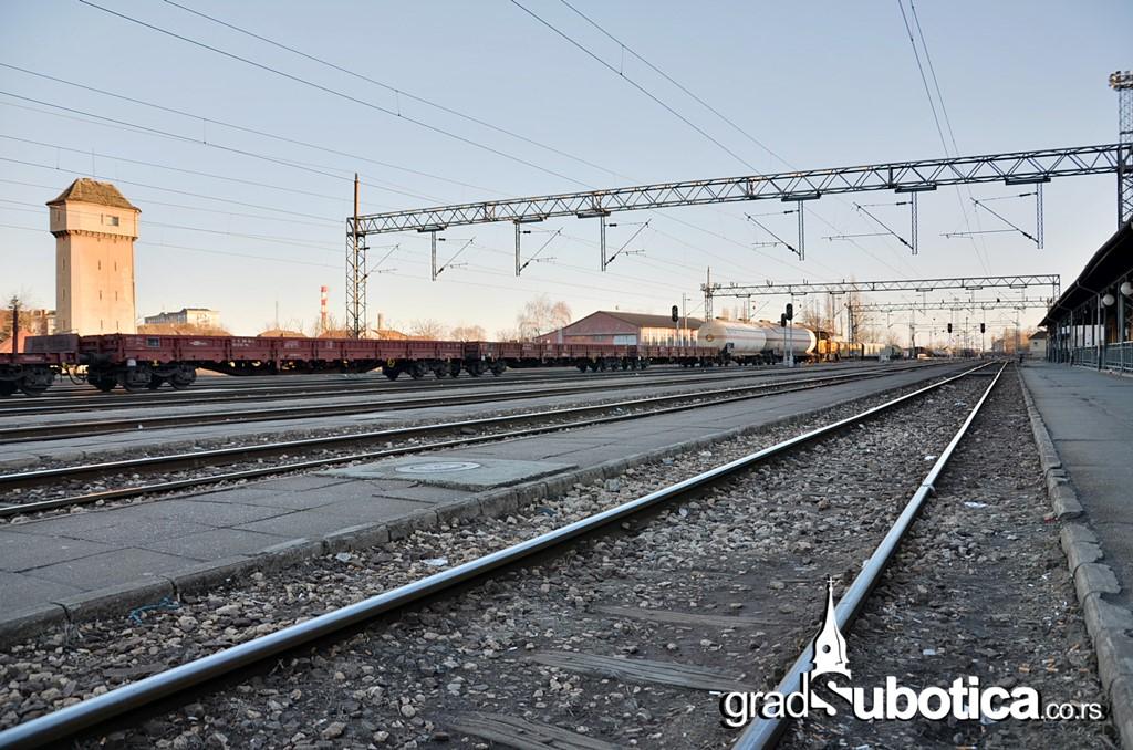 Pruga Subotica Zeleznica vozovi
