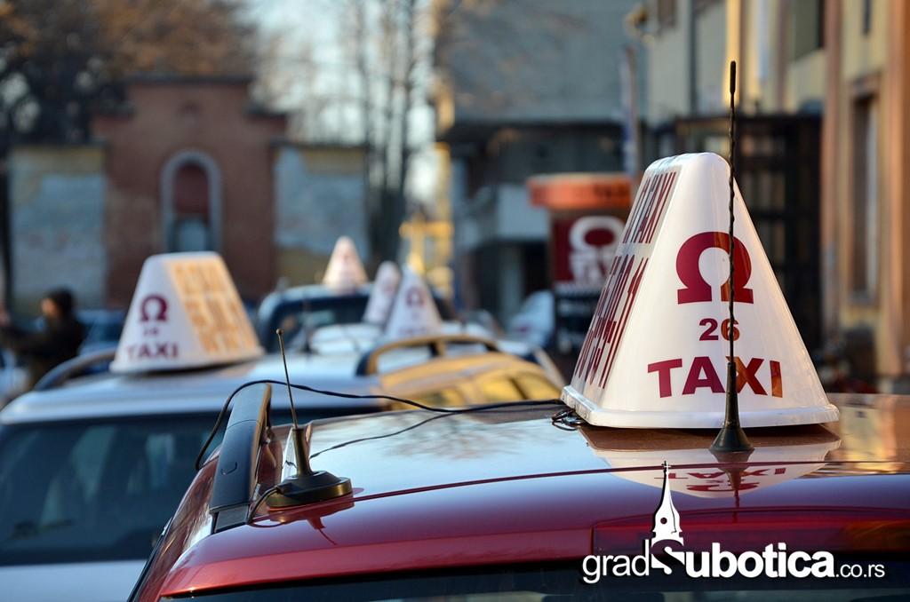 Taksisti Subotica taxi prevoz