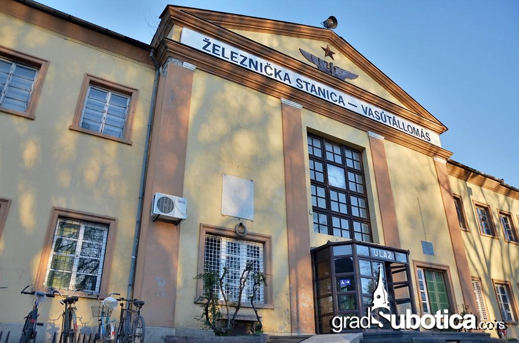 Zeleznicka stanica Subotica zeleznice Srbije vozovi
