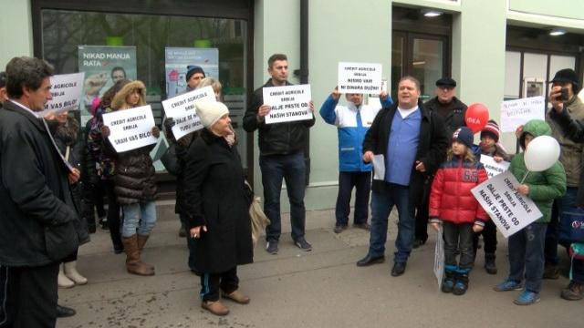 banka protest