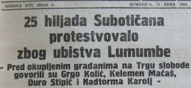 1961 suboticke