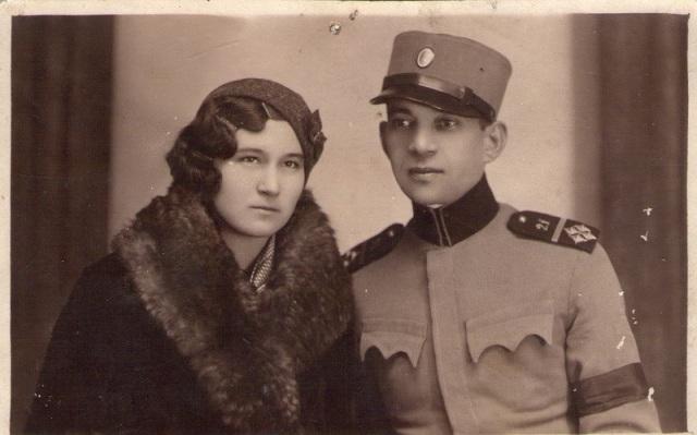 Oficir-Kraljevine-sa-suprugom-Subotica-1935