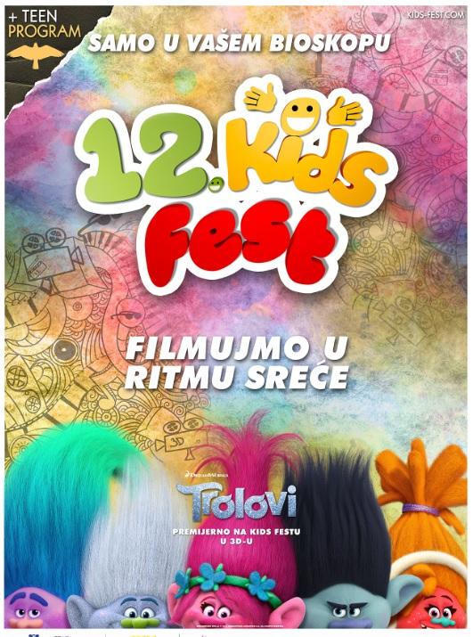 plakat 12. kids fest