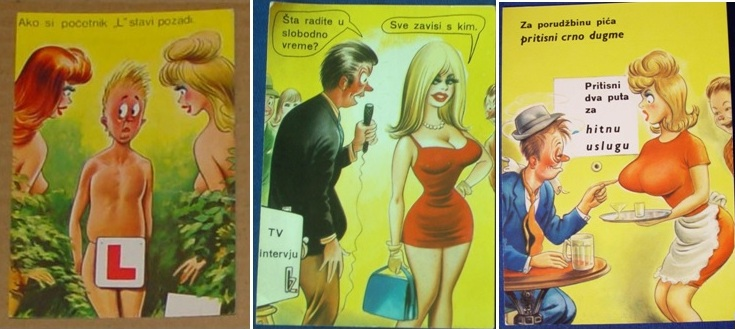sexy razglednice